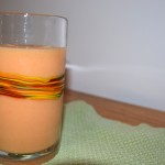 Tropical Peach, Mango, Strawberry Smoothie