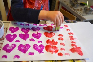 eco-friendly valentine's day crafts