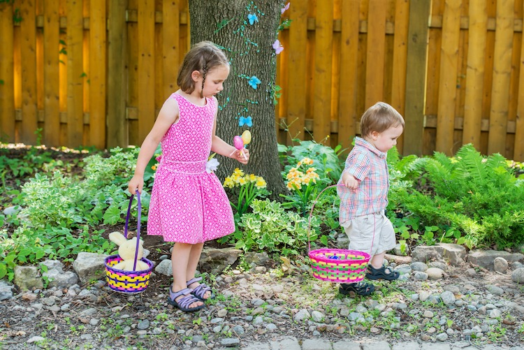 Eco Easter Baskets for Children
