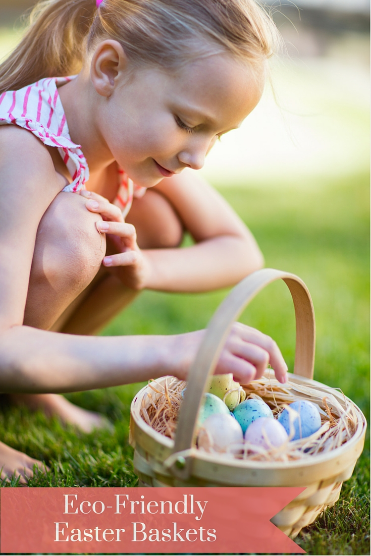 Fun eco-friendly and natural ideas for Easter baskets. Wooden toys, eco eggs, organic chocolate and more awesome ideas!