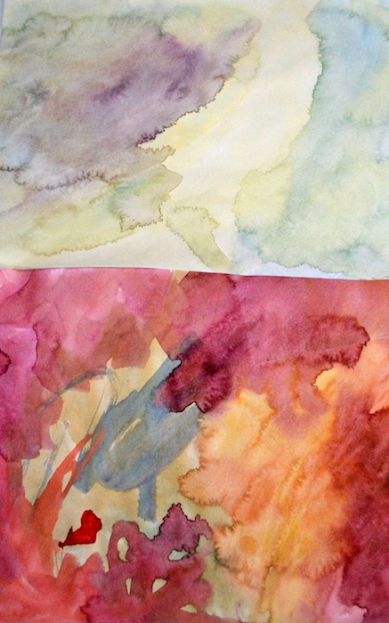 Watercolour Easter Egg Banner
