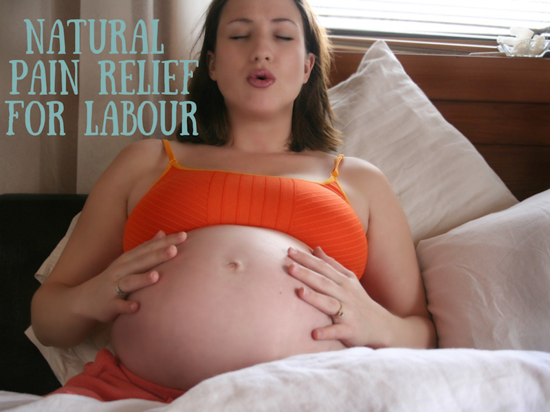 Natural Pain Relief for Labout