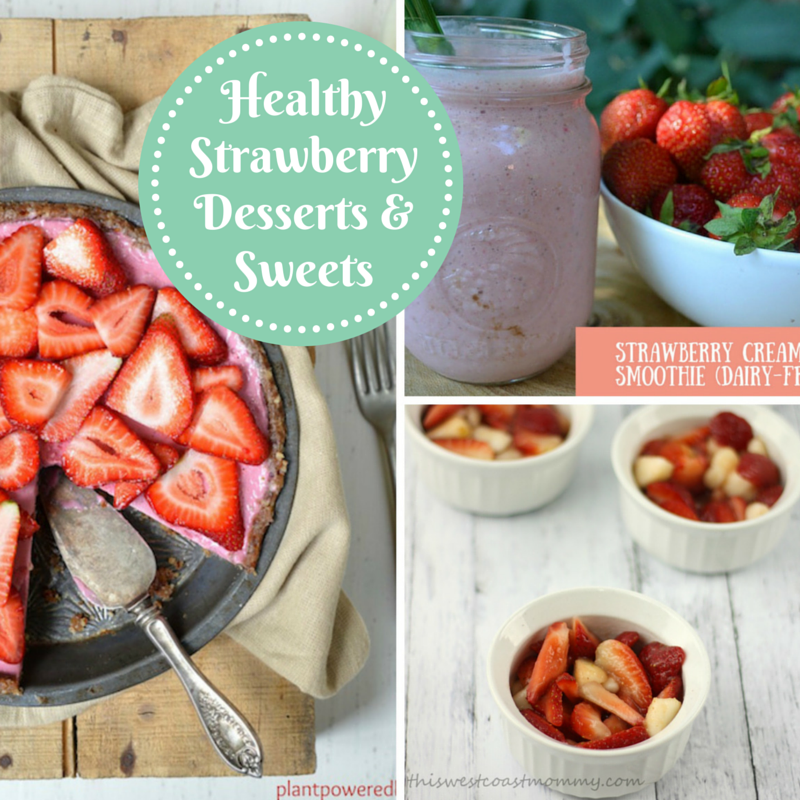 Healthy Strawberry Desserts and Sweets