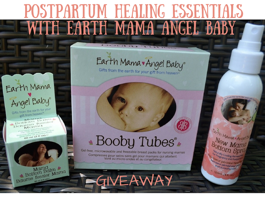 Postpartum Healing with Earth Mama Angel Baby + Giveaway