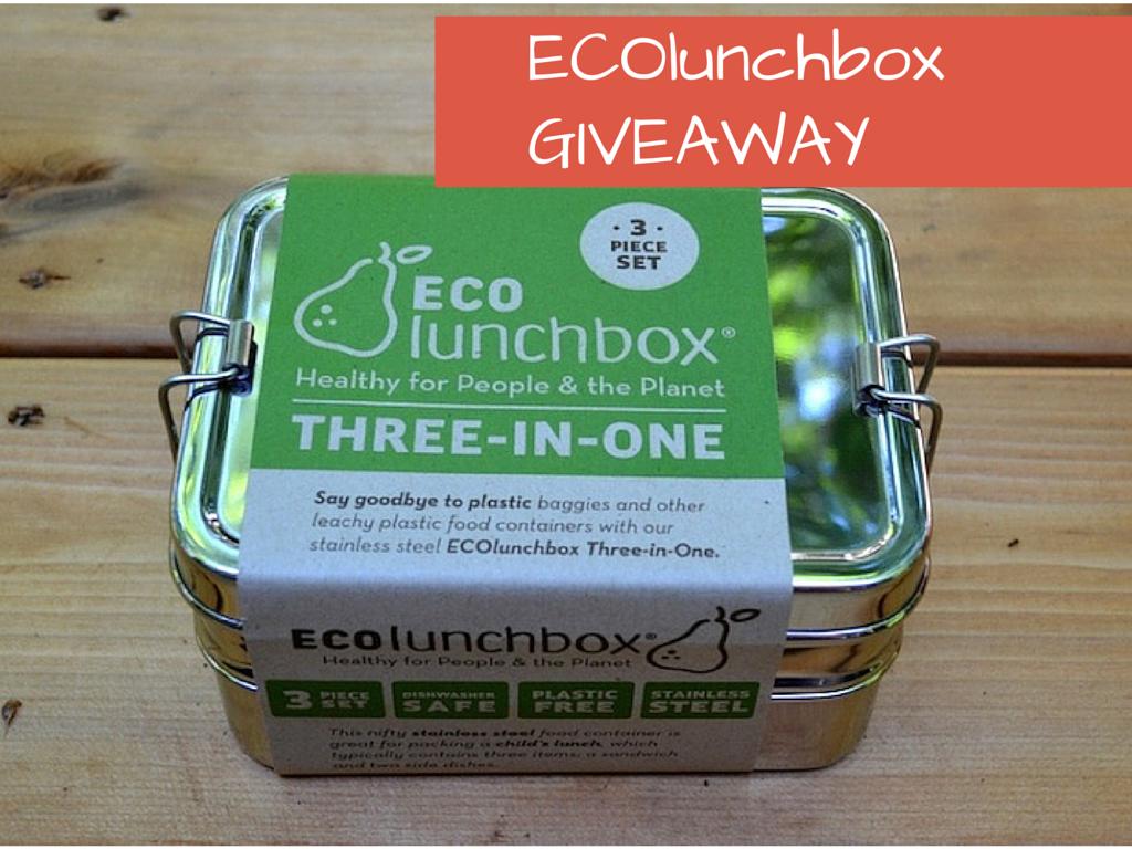 ECOlunchbox Bento Box GIVEAWAY