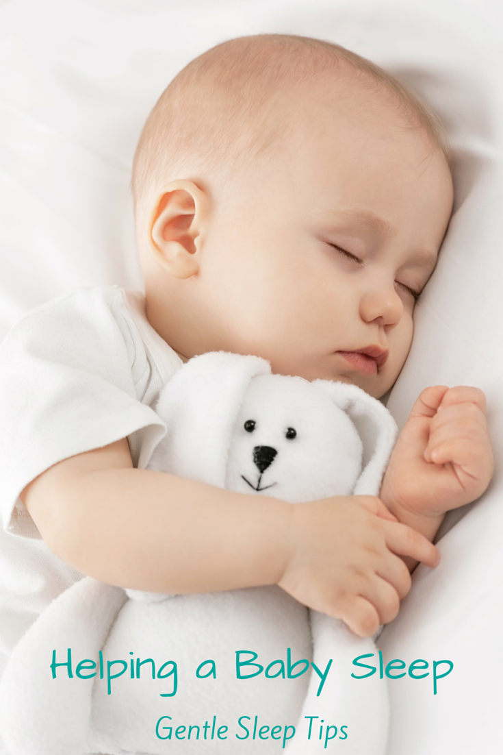 Gentle sleep tips to help create better sleep habits and routines for babies. These tips are lifesavers!