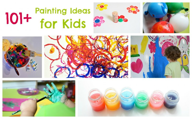 free painting with toddlers the benefits of painting for kids - Painting Images For Kids