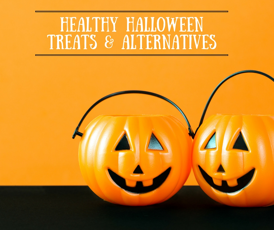 Healthy Halloween Treats & Non-Candy Alternatives