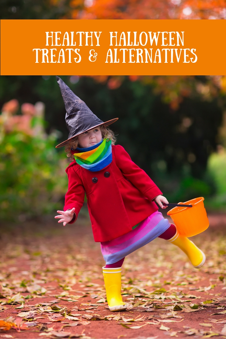 Healthy Halloween Treats & Alternatives - ideas for items to give out to trick-or-treaters