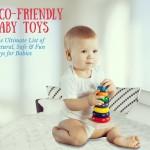 Eco-friendly Baby Toys