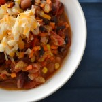 Kid-Friendly Vegetarian Chilli