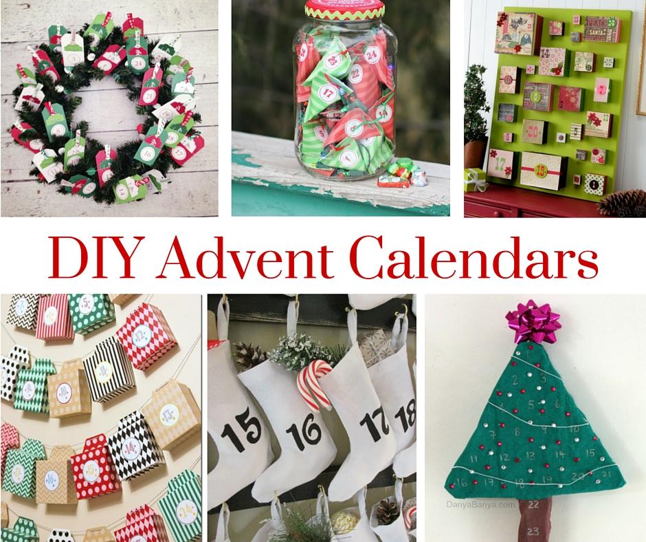 Diy Makeup Advent Calendar : Diy advent calendars