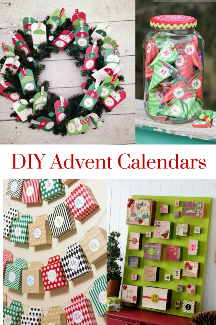 Diy advent calendars for Diy christmas advent calendar ideas