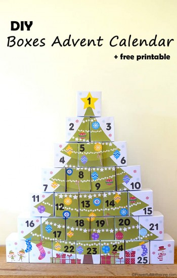 DIY Handmade Advent Calendars