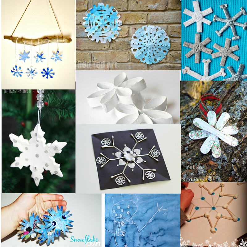 40+ Snowflake Crafts and Activities for Kids