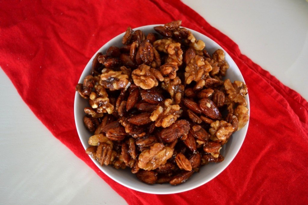 Maple Cinnamon Nuts