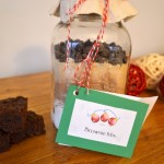 DIY Healthy Brownie Mix in a Jar (Vegan)