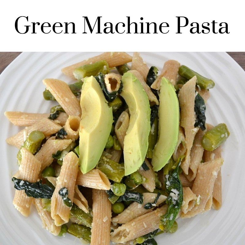 This healthy green pasta dish has only a small number of simple ingredients and is SO delicious. It's an awesome way to get greens and the perfect family-friendly pasta dish. Kids love it!