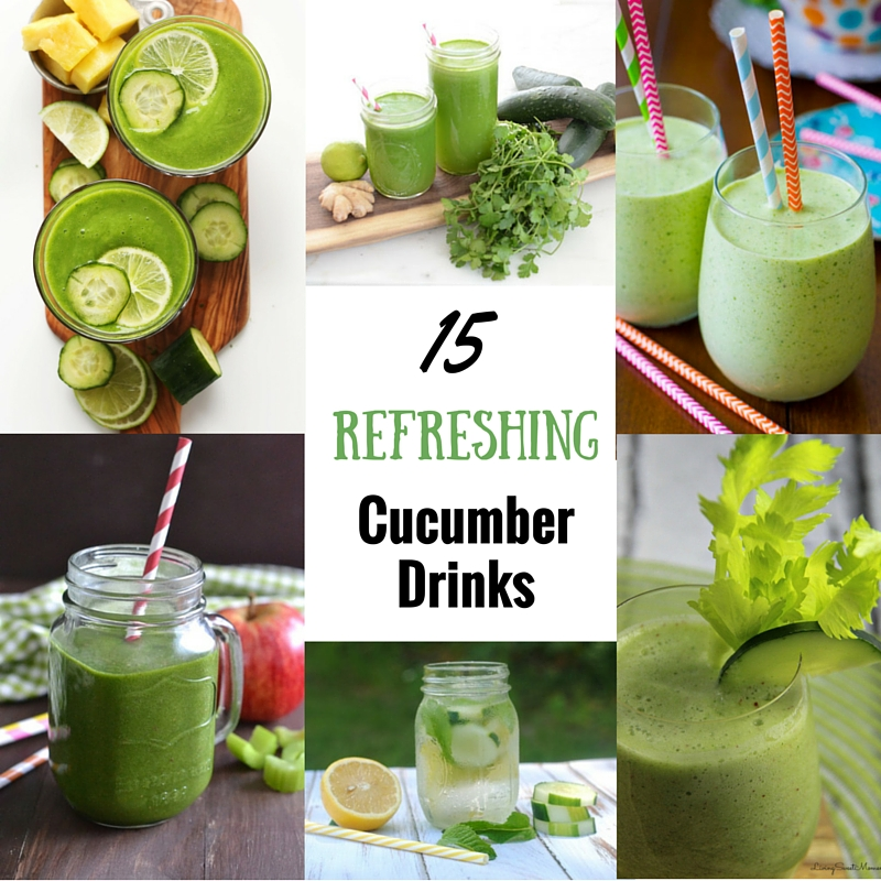 These refreshing cucumber drinks all look so delicious, refreshing and healthy. They will be so perfect for the hot weather and summertime. I can't wait to make them all!