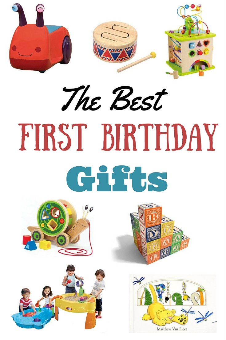 This is an amazing list of the best birthday gifts for a first birthday
