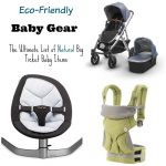Eco-Friendly Baby Gear: Chair, Play mat, Carrier, Stroller, Oh My