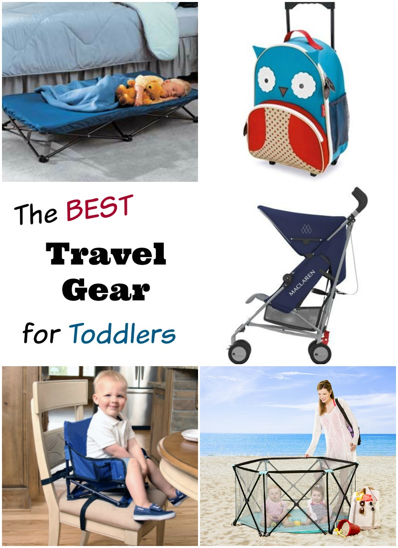 the best travel gear for toddlers