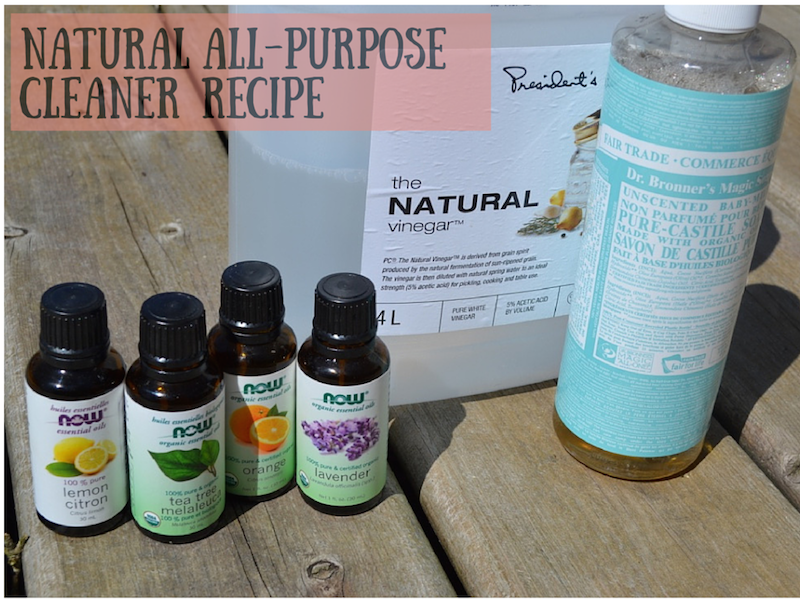 Do-It-Yourself Natural All-Purpose Cleaner