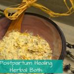 Postpartum Healing Bath