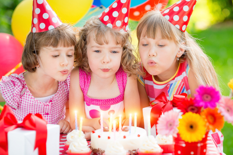 Planning a Low-Key Kids Birthday Party