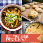 The Best Vegetarian Freezer Meals