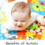 Benefits of Activity Time for Babies and a B. Toys Giveaway