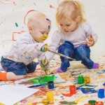 Free Painting with Toddlers – the Benefits of Painting, for Kids