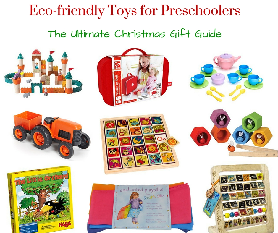 Eco-friendly Toys for Preschoolers