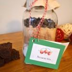 DIY Healthy Brownie Mix in a Jar (Vegan)