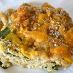 Healthy Macaroni and Cheese with Spinach and Mushrooms